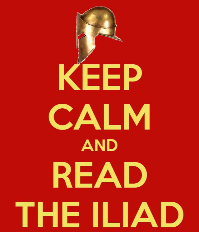 Homérosz Iliász olvasónapló
