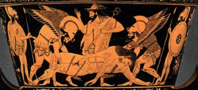 Homérosz Iliász hősök