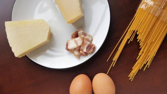 carbonara tészta tojás guanciale