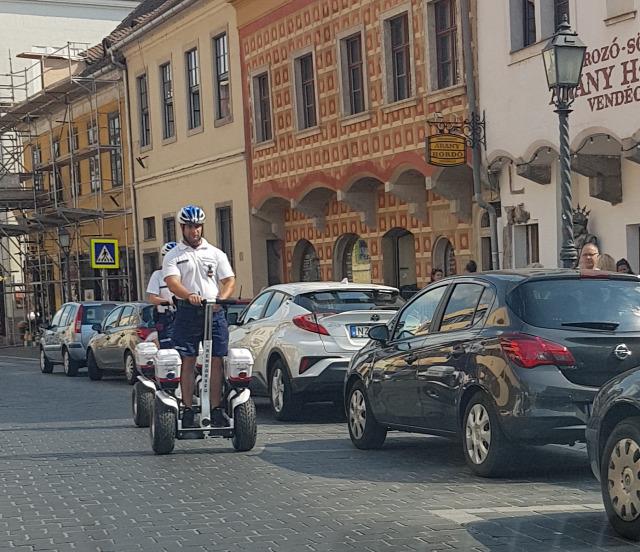 segway rendőrség budapest I. kerület