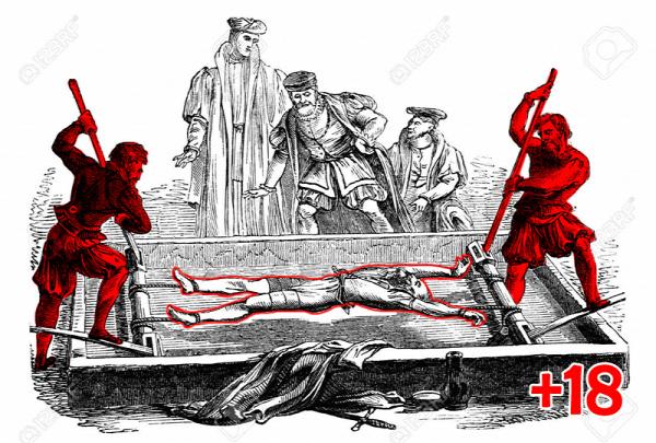 tudomány rejtélyek középkor kínzás kínzóeszközök vallatás hóhér anatómia