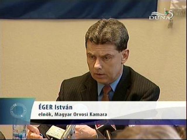 Magyar Orvosi Kamra hűtlen kezelés Éger István