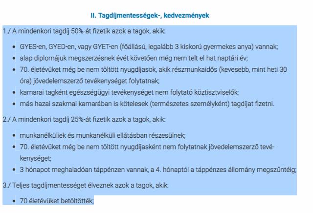 #égeristván #megélhetésivezető #magyarorvosikamara #tagdíjemelés #politika