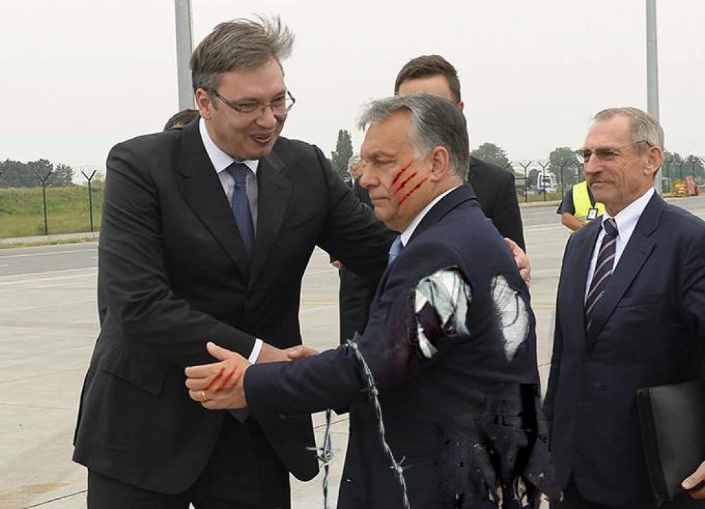 Orbán Viktor Pintér Sándor Szerbia határ
