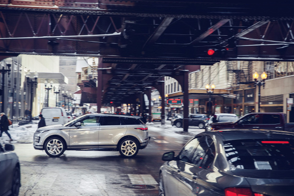 range rover evoque chicago bemutató