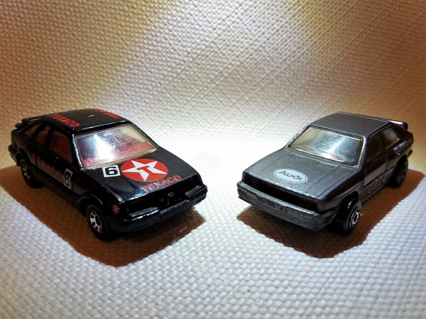 matchbox ford sierra xr4i ford audi quattro audi macau