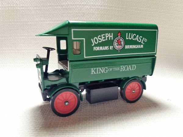 matchbox models of yesteryear walker walker electric truck england old timer