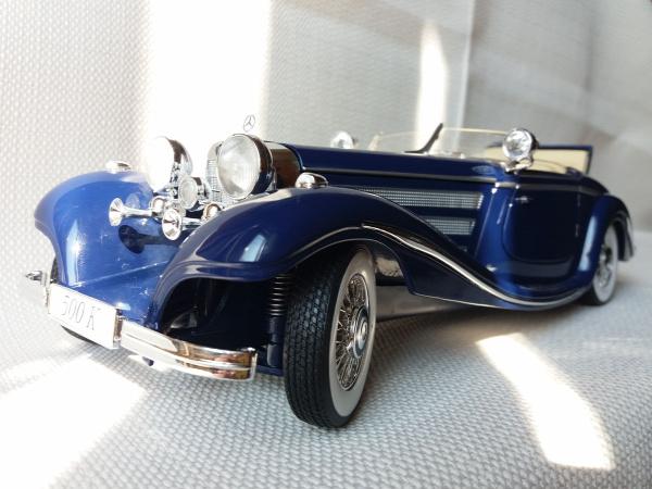 maisto mercedes mercedes-benz 500k old timer vintage 1936