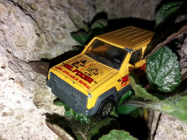 matchbox mr fixer jeep cherokee thailand jeep