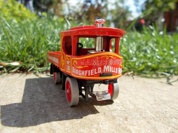 matchbox models of yesteryear atkinson atkinson steam wagon y18 gőz england lesney 1985 1918 old timer egyéb