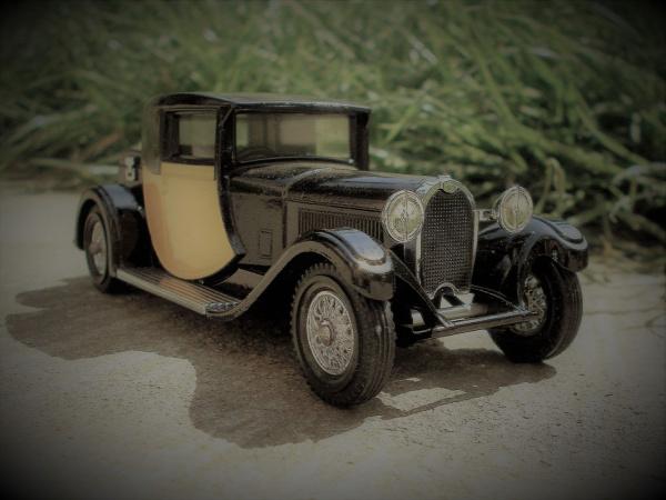 matchbox models of yesteryear old timer vintage bugatti bugatti type 44 type 44 egyéb england