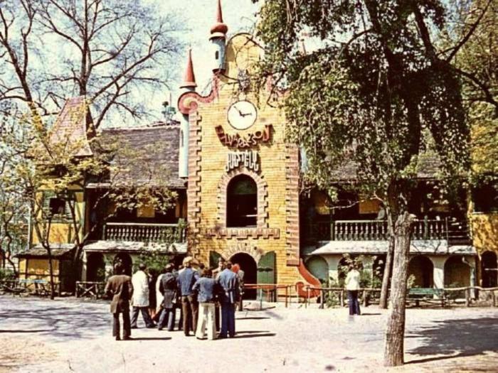 Vidám Park Budapest anno nosztalgia retró feeling kultúra