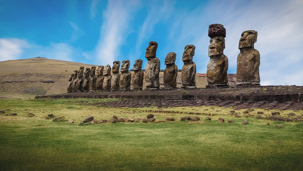 Húsvét-sziget Rapa Nui Misztikus Külföldi kaland kultúra utazás
