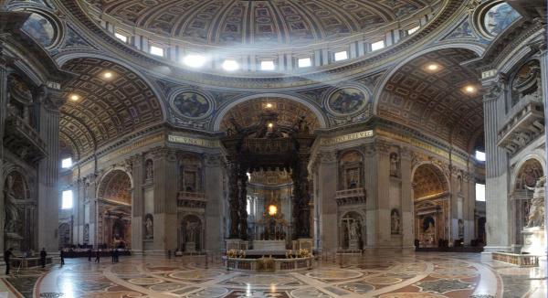 Vatikán Róma húsvét Michelangelo Szent Péter-bazilika kultúra utazás Külföldi kaland