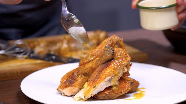 csirke sült
