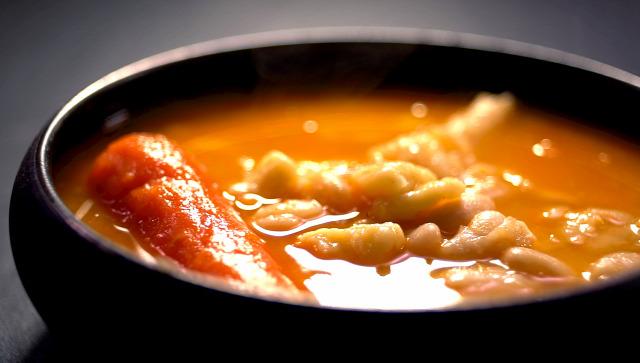 bab leves rántás főzelék csülök