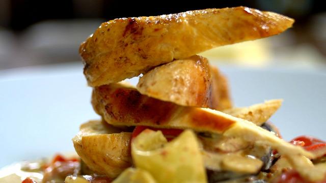 francia lecsó csirkemell zöldség ősz