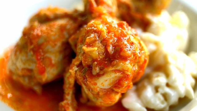 csirkepaprikás nokedli tejföl csirke szaftos vacsora