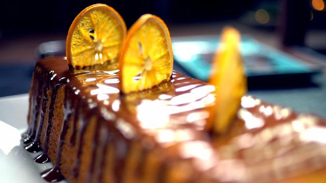 karácsonyi sütemény narancskenyér