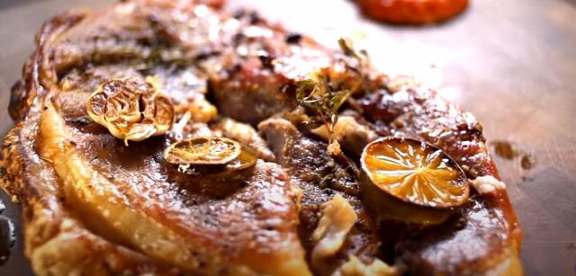 frédiszelet sülthús ajvár zöldséglekvár téli vacsora