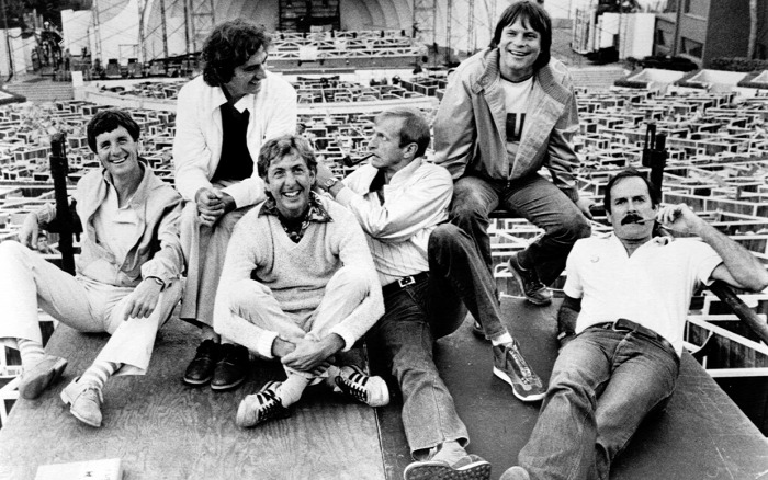 Monty Python John Cleese Graham Chapman Michael Palin Terry Jones Eric Idle Terry Gilliam George Harrison Gyalog galopp Brian élete CoolTour Starlight