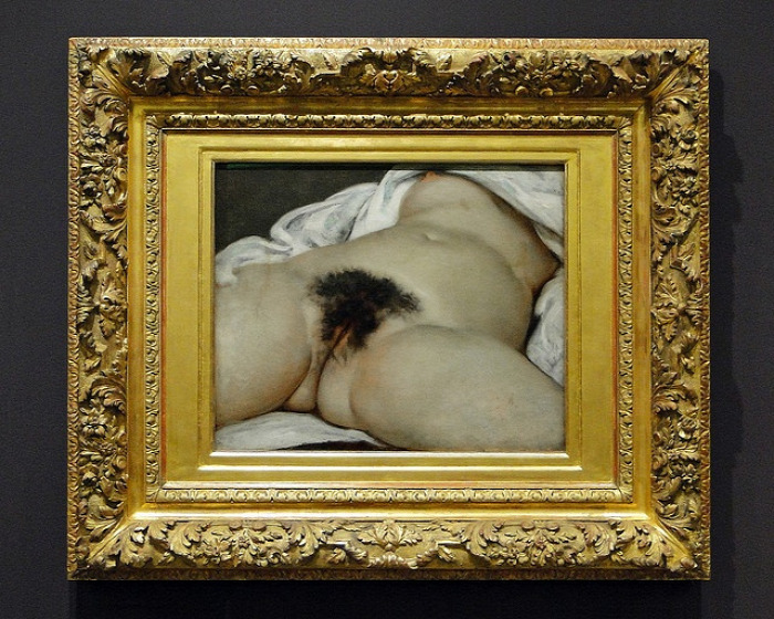 Willendorfi vénusz Sheela na Gig Gustave Courbet CoolTour