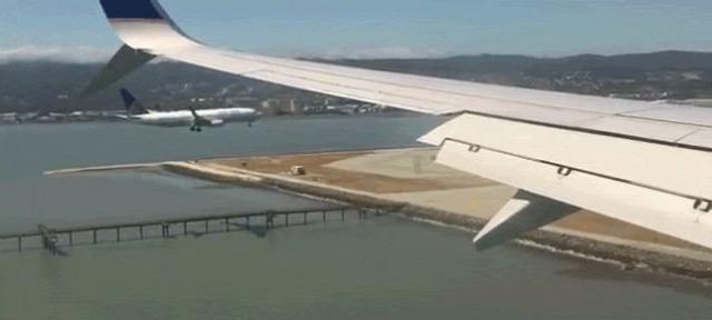repülő SFO leszállás párosan szép az élet