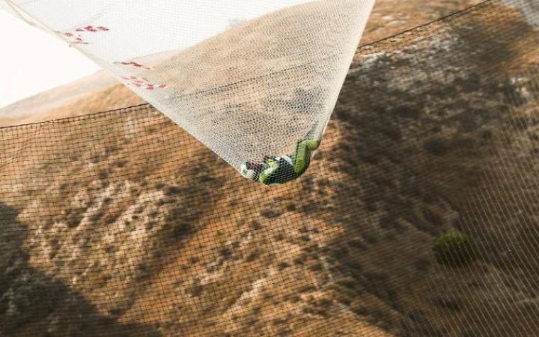 ejtőernyő zuhanás