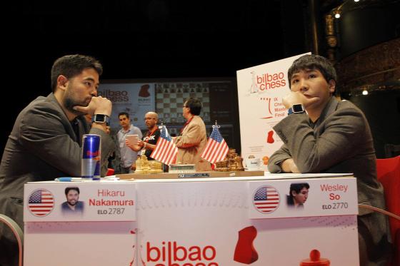 IX. Chess Masters Final Bilbao  Carlsen Karjakin