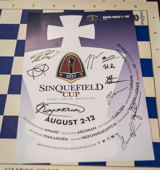 Grand Chess Tour 5. Sinquefield Cup St. Louis