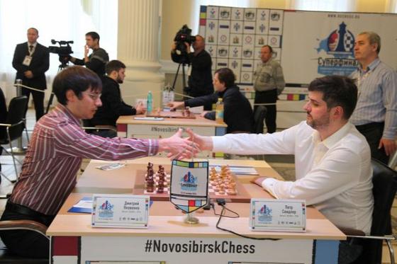 Orosz szuperbajnokság  Novoszibirszk