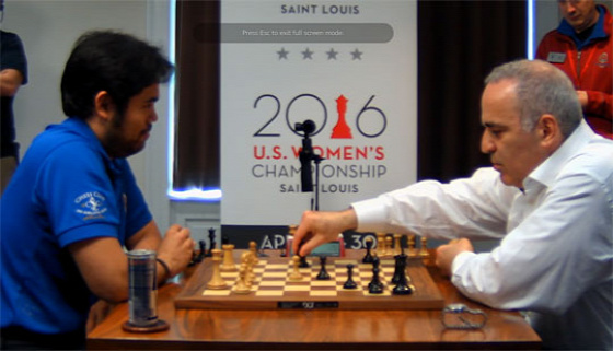 Grand Chess Tour 2017 St. Louis Kaszparov