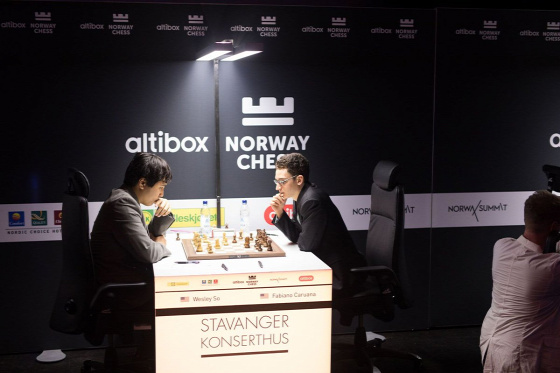 Stavanger Altibox Norwy Chess 2017  Carlsen So Kramnyik Caruana Anand