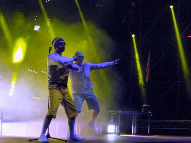 Belga együttes zenekar Spencer Hill Magic Band koncert riport képriport galéria képgaléria fotó Irie Maffia élőközvetítés felvétel Volt fesztivál feszt livestream pop technológia geg rap hiphop Budapest Park