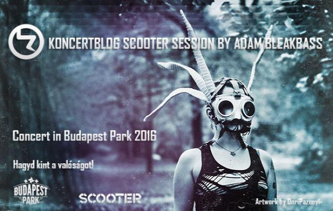 scooter koncert budapest park