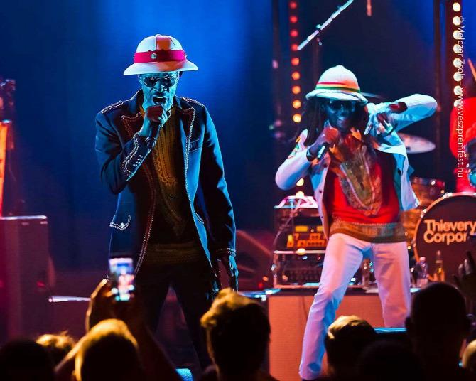 Thievery Corporation Budapest Park Rob Garza Veszprém Feszt Eric Hilton Racquel Jones koncert elektró jazz dzsessz mc triphop jamaicanroots The Temple of I & I ajánló belépő-nyereményjáték ingyenjegy párosjegy dub Bin-Jip interjú New Beat Park nyár lemez album bemutató Jamaica
