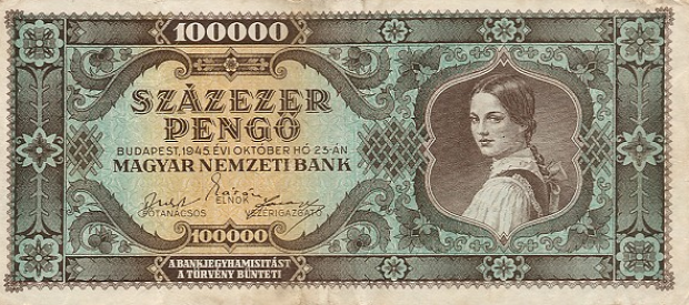 Ez a kedvenc magyar bankjegye - Forrás: Wikipedia