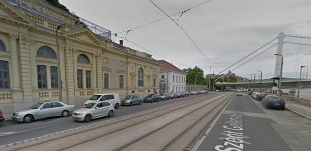 Valahol itt lesz a megálló - Forrás: Google Maps