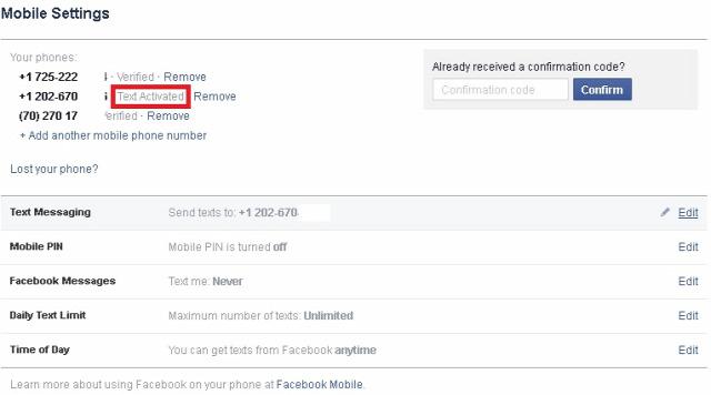 Twitter Facebook SMS social web webcserkészet mobil