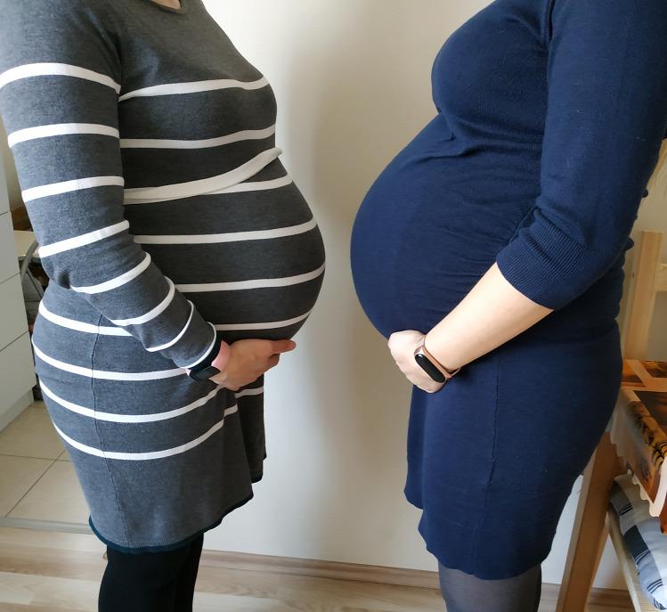 Pirilány terhesség kismama magzatméret