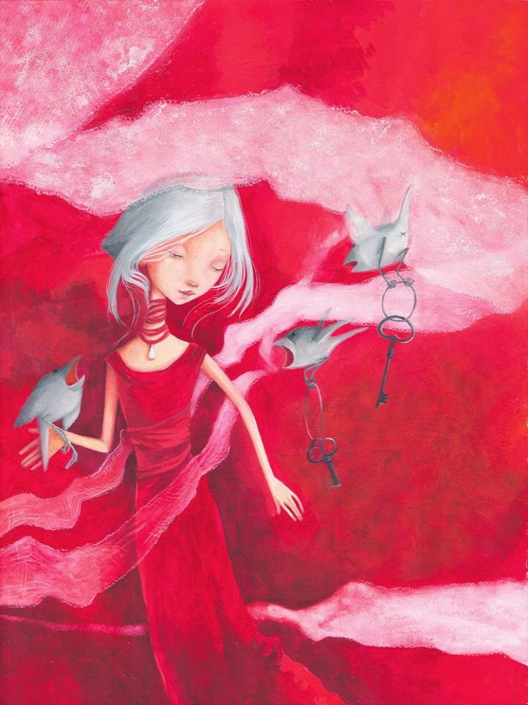 Vakmacska segítség betegség gyerekkönyv rajz
