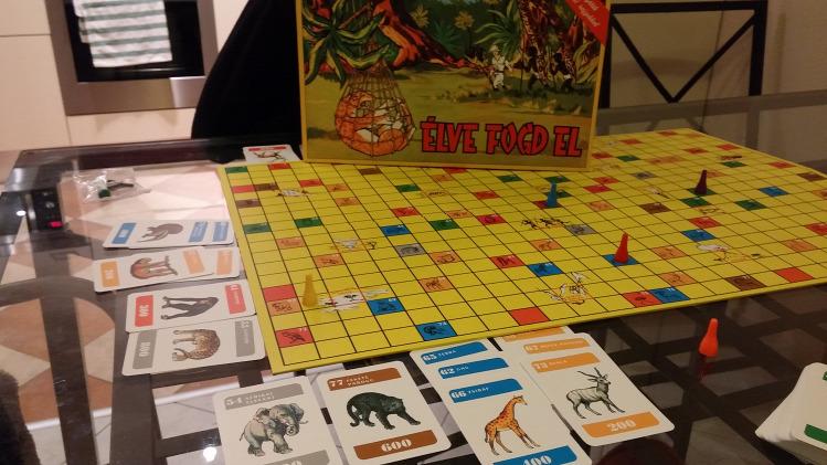 Tünde társasjáték játék teszt