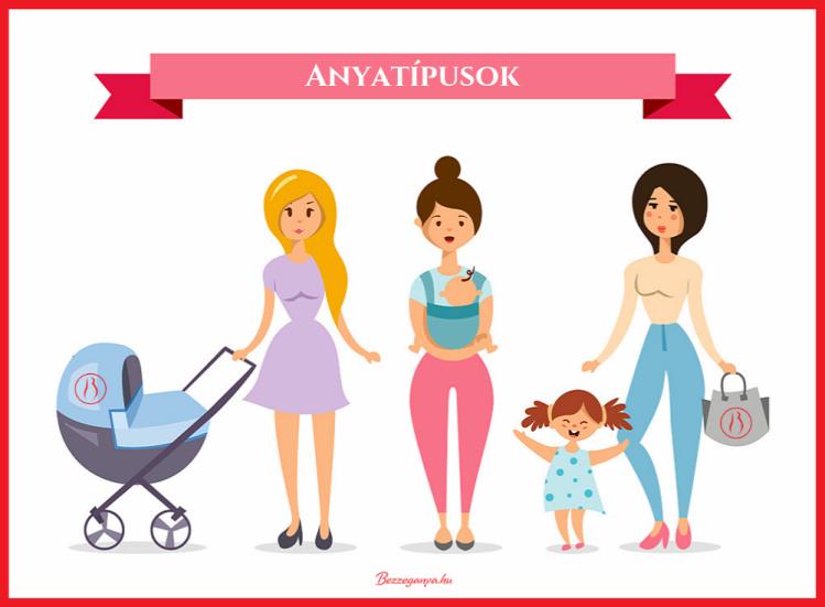Tünde anyaság anyatípusok