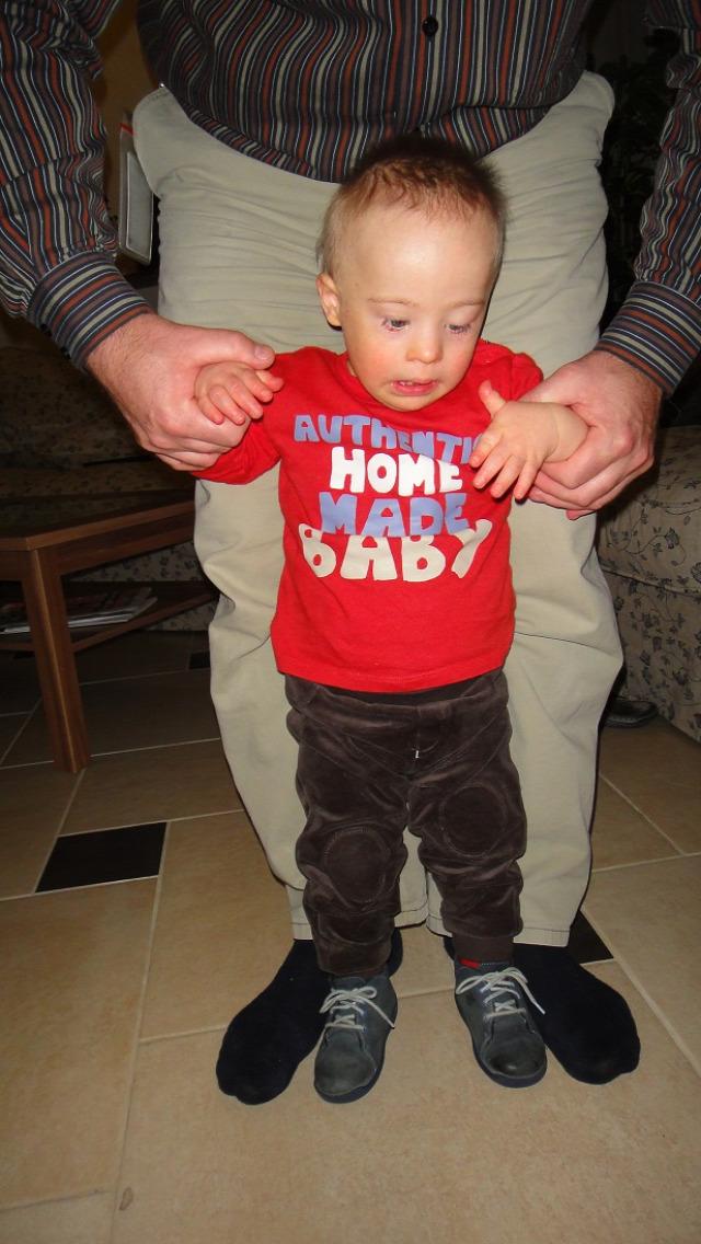 852a2112a1 Azt mondták, a kisfiam sosem fog járni