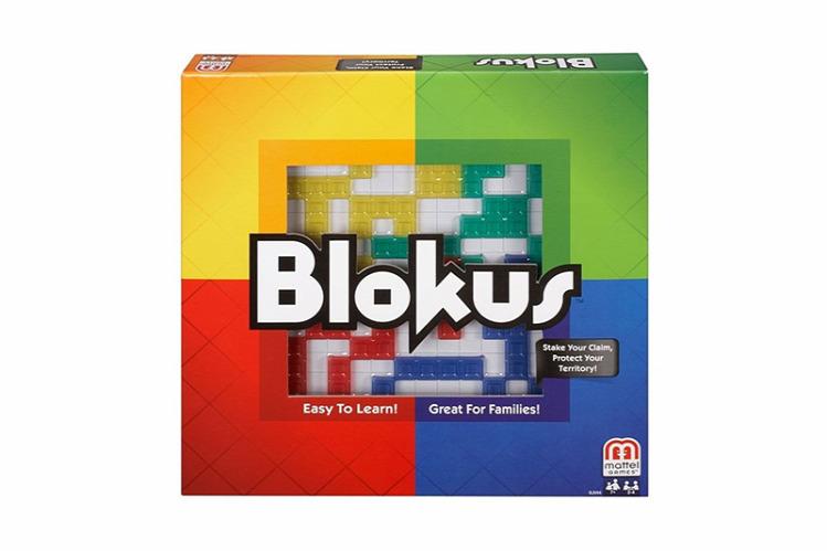 Tünde Blokus társasjáték