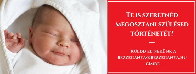 szüléstörténet szülés