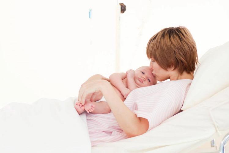 kórházteszt szülés
