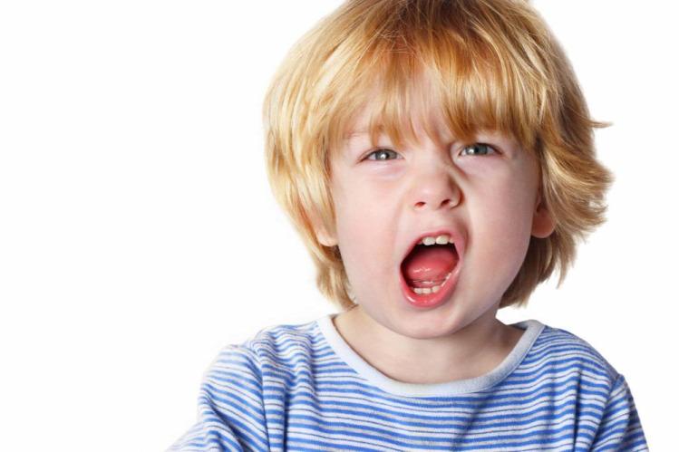 gyereknevelés hiszti dühroham