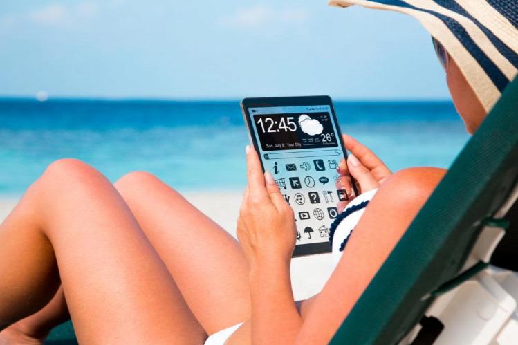 Tünde nyaralás okostelefon