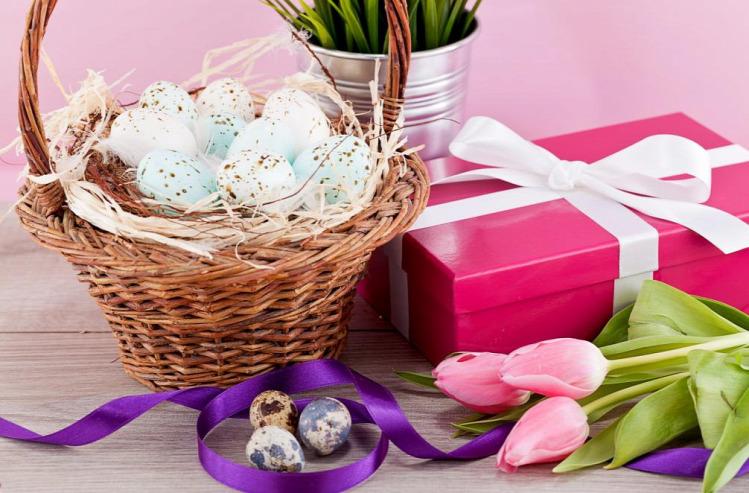 Vakmacska húsvéti ajándék húsvét